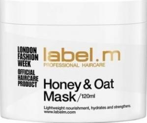 Masca de par Label.m Honey and Oat 120ml Masca