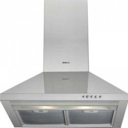 Hota Beko CWB6441XN 150W 420mch 3 trepte de ventilatie 60cm Hote