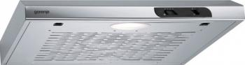 Hota Gorenje DU6115EC Putere de absorbtie 125 mc-h 1 motor Argintiu Hote