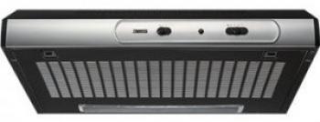 Hota traditionala Zanussi ZHT630X Putere de absorbtie 190 mch 1 motor 60 cm NegruInox Hote