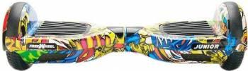 Hoverboard Freewheel Junior Graffiti Galben Vehicule electrice