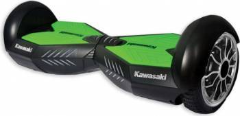 Hoverboard Kawasaki KX-PRO 10 inch Negru-Verde Vehicule electrice