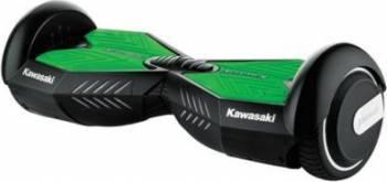 Hoverboard Kawasaki KX-PRO 6.5 inch Negru-Verde Vehicule electrice