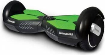 Hoverboard Kawasaki KX-PRO 8 inch Negru-Verde Resigilat Vehicule electrice