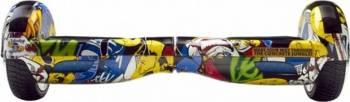 Hoverboard MonkeyBoard Grafitti Cool 6.5inch + Geanta Transport Vehicule electrice