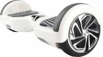 Hoverboard Serioux SRXHV-KW6.5WH 6.5 inch 12 km/h Alb Vehicule electrice