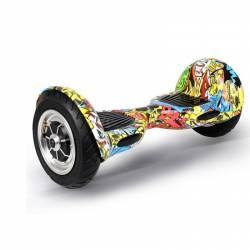 Hoverboard Koowheel S36-C10 Offroad Yellow Graffiti Vehicule electrice