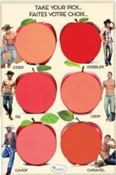 Paleta de culori TheBalm How bout Them Apples Lip and Cheek Cream Palett