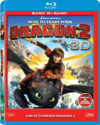 How to Train Your Dragon 2 BluRay Combo 3D+2D 2014 Filme BluRay