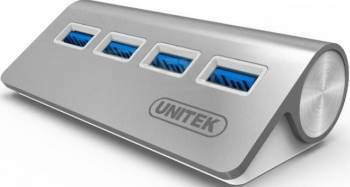 Hub USB 3.0 Unitek y-3186 4-port