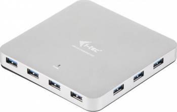 Hub USB i-Tec 10 porturi Metal Charging USB Hub