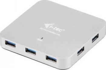 Hub USB i-Tec 7 porturi Metal Charging