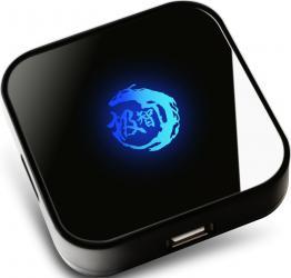 Hub USB Somic Jizz Ice Scorpion GA70 USB 2.0 4 porturi