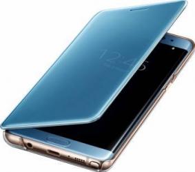 Husa Agenda Clear View Samsung Galaxy Note 7 N930 Albastru huse telefoane