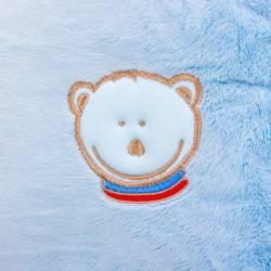 Husa blanita pentru perna de alaptare Colectia Mis Mat Bleu 72 cm Fiki Miki Lenjerii si accesorii patut