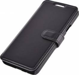 Husa Book Piele Tellur pentru Samsung Galaxy Grand Prime G530 Neagra huse telefoane