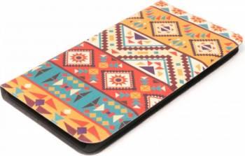 Husa Book Tellur Huawei P8 Lite Mozaic Huse Telefoane