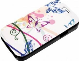 Husa Book Tellur Samsung Galaxy S4 Mini Fluturi huse telefoane
