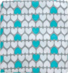 Husa bumbac perna gravida Gri-Bleu 165 cm - F015 Fiki Miki Lenjerii si accesorii patut