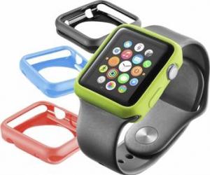 Husa Bumper Cellularline pentru Apple Watch 38mm Accesorii Smartwatch