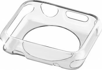 Skin Cellularline Apple Watch 42 mm Transparent Accesorii Smartwatch