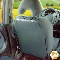 Husa de protectie pentru scaunul masinii transparenta