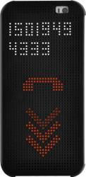 Husa Dot View OEM HTC One E9 Neagra