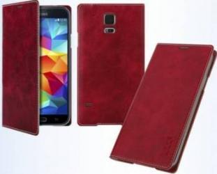 Husa Flip Book Battery Arium Mustang LG G4 Rosu huse telefoane