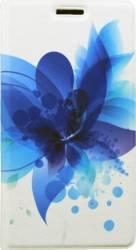 Husa Flip Cover Tellur Samsung Galaxy J7 J730 LTE Albastru Floral Huse Telefoane