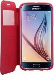 Husa Flip Goospery My-Noble Samsung Galaxy S6 Edge G925 Rosu Huse Telefoane