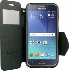 Husa Flip Goospery My-WinFancy Samsung Galaxy J5 J500 2015 Negru Huse Telefoane