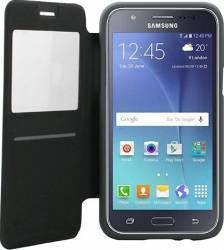 Husa Flip Goospery My-Wow Samsung Galaxy J5 J500 2015 Gri Huse Telefoane
