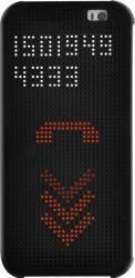 Husa Flip S-View OEM HTC One E9 Plus Dot View Negru