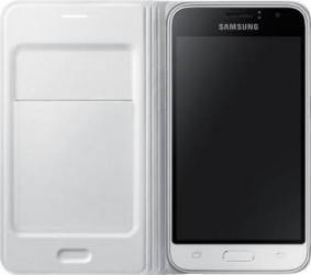 Husa Flip Samsung Galaxy J1 J120 2016 Alba