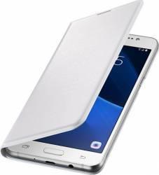 Husa Flip Samsung Galaxy J5 J510 2016 Alba Huse Telefoane