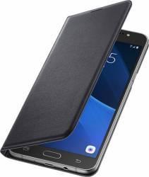 Husa Flip Samsung Galaxy J7 J710 2016 Neagra