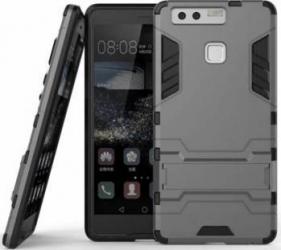 Husa hibrid g-shock OEM pentru Huawei P9 Lite, gri Huse Telefoane