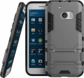 Husa hibrid OEM HTC 10 4G G-shock Gri Huse Telefoane