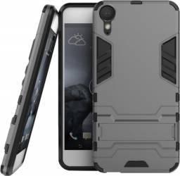 Husa hibrid OEM HTC Desire 10 Lifestyle G-shock Gri Huse Telefoane
