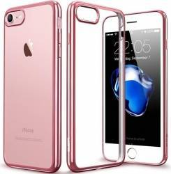 Husa Iphone 7 Din Silicon Electroplating Roz Huse Telefoane