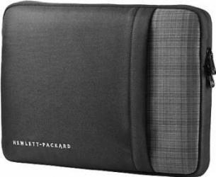 Husa laptop HP 12.5 Negru-Gri Genti Laptop