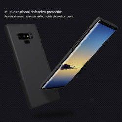 pret preturi Husa NILLKIN pentru Samsung Galaxy Note 9 model mat convex rezistenta la uzura PC negru