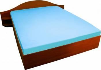 Husa Pat Home Still Versoft cu elastic 160x200 cm Albastru Cearceafuri si fete perna