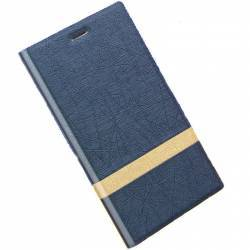 Husa PU Flip OEM Xiaomi Xiaomi Note 3 Pro Dark Blue huse telefoane