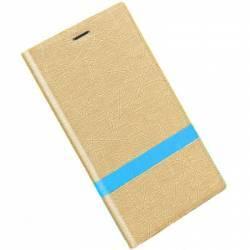 Husa PU Flip OEM Xiaomi Xiaomi Note 3 Pro gold Huse Telefoane