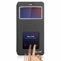 Husa PU Flip View OEM Xiaomi Mi4C Black Huse Telefoane