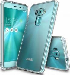 Husa Ringke Asus ZenFone 3 Fusion Crystal Clear + Folie Ringke Invisible Screen Defender Resigilat Huse Telefoane
