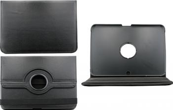 Husa Rotativa Tableta 10.1 Samsung Galaxy Tab 3 P5200 P5210 Neagra