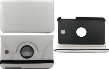 Husa Rotativa Tableta 7 Samsung Galaxy Tab 3 T210 T211 Alba