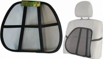 Husa scaun auto cu suport lombar spatar RoGroup Huse si Accesorii